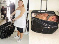 Hapisten Bavulda Firar Etmek İsterken Yakalandı
