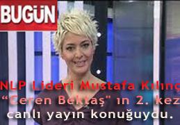 """NLP Lideri Mustafa Kılınç 12.02.2012 günü """"Ceren Bektaş'ın 2. Kez CANLI Yayın Konuğuydu."""