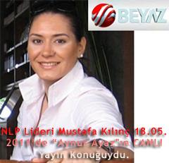 """NLP Lideri Mustafa Kılınç 18.05.2011'de """"Aynur Ayaz'ın Canlı yayın konuğuydu"""