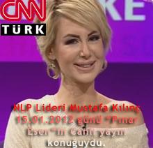 """NLP Lideri Mustafa Kılınç 15.01.2012 günü """"Pınar Esen""""in Canlı yayın konuğuydu."""