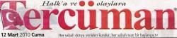 Stresle savaşan dernek – Tercüman – 12/03/2010